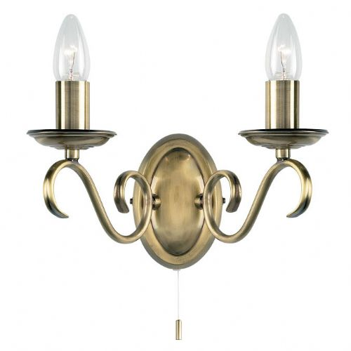 Antique Wall Light Plus Switch 2030-2AN